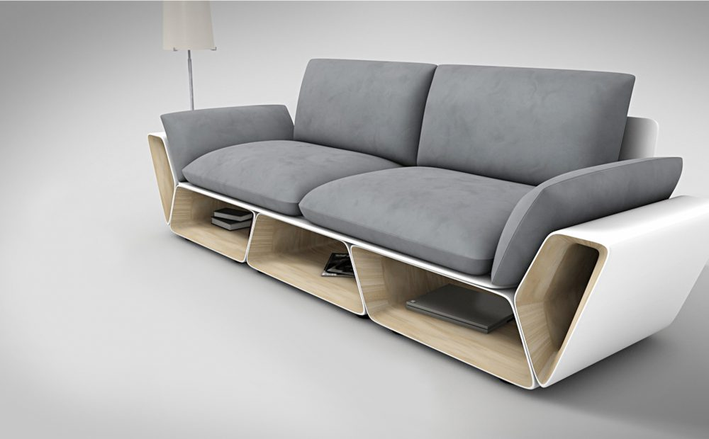 Slot couch 02 emin ayaz industrial design website for Industrial couch