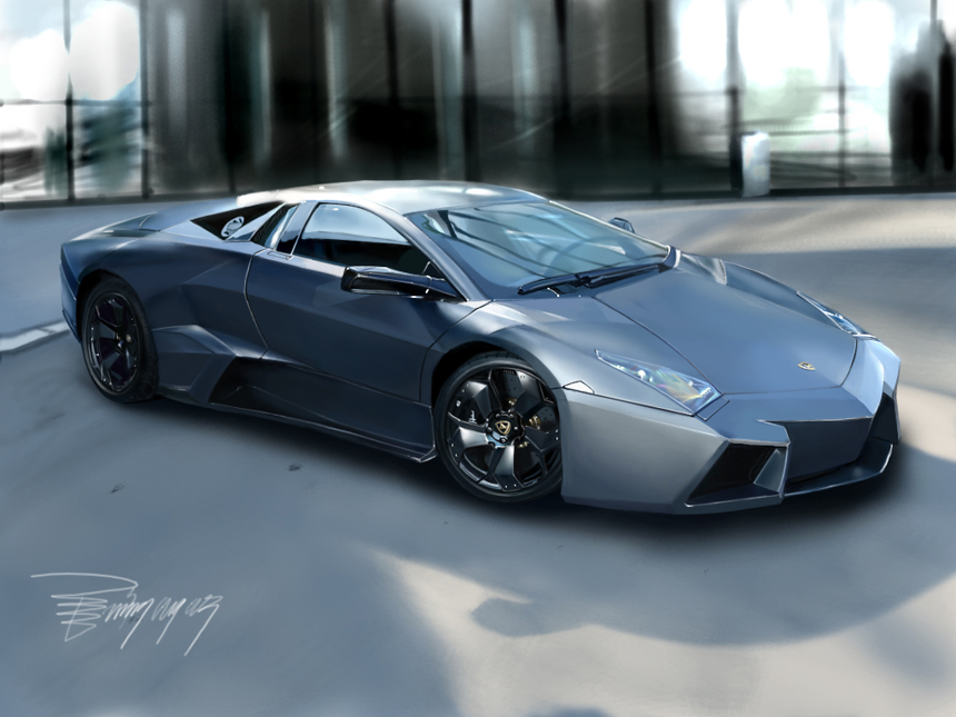 lamborghini-graphic-tablet-speedpaint